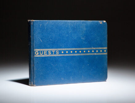 """Truman's """"Air Force One"""" Guest Book"""