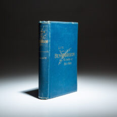 First edition of the Life of Gen. Ben Harrison by Lew Wallace.
