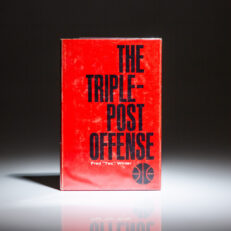 First edition of The Triple-Post Offense by Tex Winter.