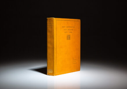 Limited edition of New Amsterdam, New Orange, New York by William Loring Andrews.