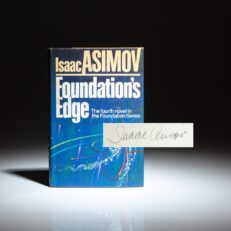 First edition of Foundation's Edge by Isaac Asimov.