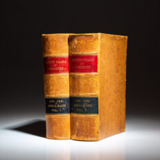 First edition of Twenty Years of Congress: From Lincoln to Garfield, by James G. Blaine.