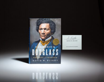 Signed limited edition of Frederick Douglass: Prophet of Freedom, by David W. Blight.