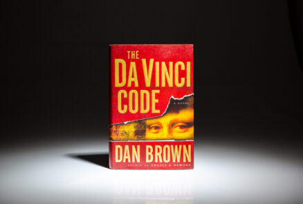First edition, first printing of The Da Vinci Code by Dan Brown.