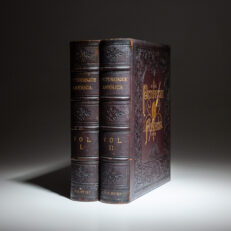 First edition of Picturesque America by William Cullen Bryant.