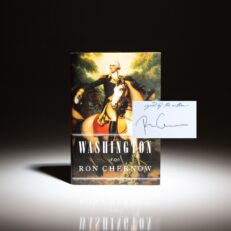 First edition of Washington: A Life by Ron Chernow, signed on bookplate.