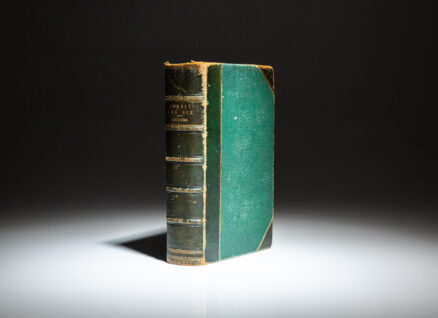 First edition in book form of Dombey and Son by Charles Dickens.