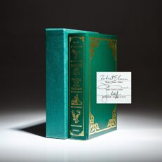 Signed limited edition of Timber and Tide: Hunting Tales of the Northeast compiled by Robert Elman.