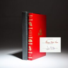 Signed limited edition of The Bird Dog Book by George Bird Evans.