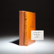 Signed limited edition of The Wild Turkey Book edited by J. Wayne Fears.