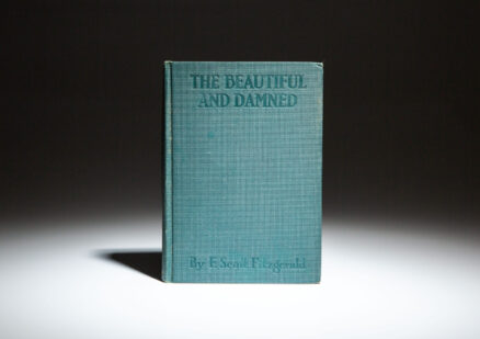 First edition, second issue of The Beautiful and Damned by F. Scott Fitzgerald.