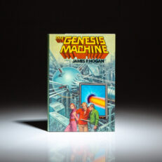 First edition of The Genesis Machine by James P. Hogan.
