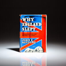 First edition, first printing of Why England Slept by John F. Kennedy.