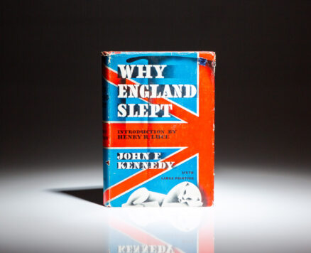 First edition, sixth printing of Why England Slept by John F. Kennedy.