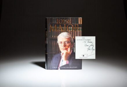 Signed first edition of The Autobiography of John Major, signed by the author.