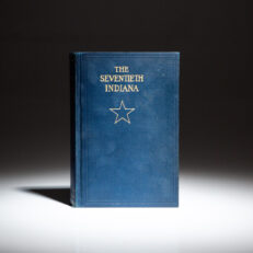 First edition of The Seventieth Indiana Volunteer Infantry by Samuel Merrill.