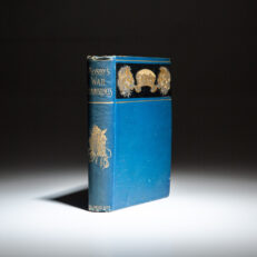 First edition of Mosby's War Reminiscences and Stuart's Cavalry Campaigns, by John S. Mosby.
