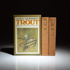 First edition, first printing of Trout by Ernest Schwiebert.