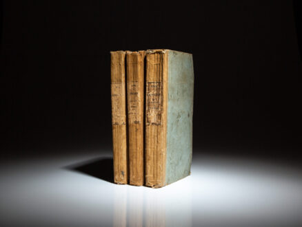 First American Edition of the Life of Napoleon Buonaparte: Emperor of the French, by Sir Walter Scott.