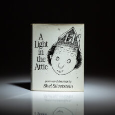 First edition of A Light in the Attic by Shel Silverstein.