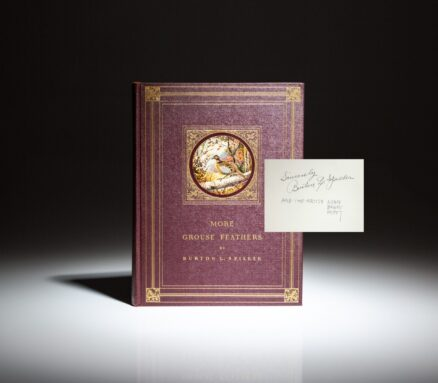 Limited edition of More Grouse Feathers by Burton L. Spiller, illustrated by Lynn Bogue Hunt, and signed by both.