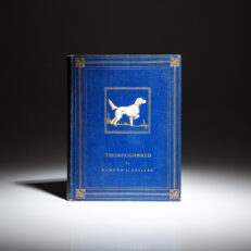 Limited edition of Thoroughbred by Burton L. Spiller, illustrated by Lynn Bogue Hunt.