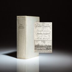 The London Magazine for the year 1763, volume XXXII, with twelve monthly issues bound as one volume.
