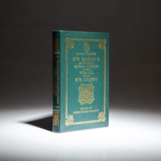 Collector's Edition of Sir Gawain and the Green Knight translated by J.R.R. Tolkien, from The Easton Press.