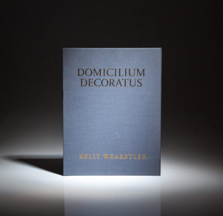 Signed limited edition of Domicilium Decoratus by Kelly Wearstler.