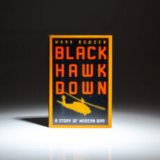 First edition, first printing of Black Hawk Down by Mark Bowden.