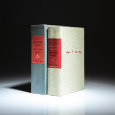 Signed limited edition of A Soldier's Story by Omar N. Bradley, in the publisher's slipcase.