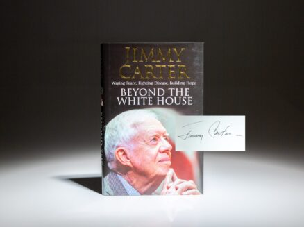First English edition of Beyond the White House, signed by President Jimmy Carter.