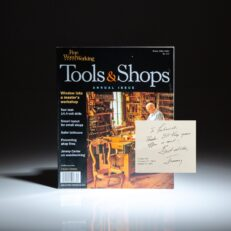 An article in Fine Woodworking magazine by President Jimmy Carter inspired a gentleman to write and inquire about the dimensions of his chess table, which is featured in the magazine.