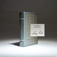 Signed limited edition of Keeping Faith by Jimmy Carter, from The Easton Press.