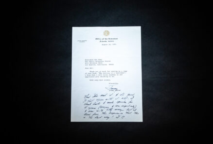 Letter from Governor Jimmy Carter to veteran political consultant Hal Evry, thanking him for sending a copy of his book, The Selling of a Candidate.