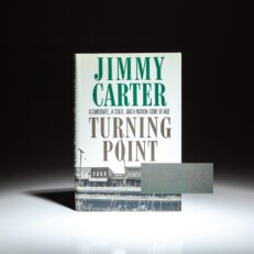 Signed copy of Turning Point: A Candidate, a State, and a Nation Come of Age, by Jimmy Carter.