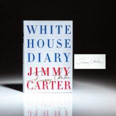 Signed first edition of White House Diary by President Jimmy Carter.