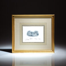 Signed White House greeting card from President Jimmy Carter and First Lady Rosalynn Carter.