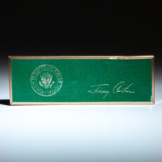 Bill signing pen from the Carter White House.