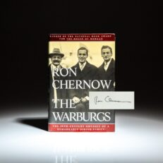 Signed first edition of The Warburgs by Ron Chernow.