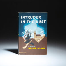 First printing of Intruder in the Dust by William Faulkner.