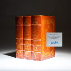 From The Easton Press, The Civil War: A Narrative, signed by the author, historian Shelby Foote.