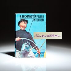 Signed first edition of Intuition by R. Buckminster Fuller.