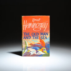 First English Edition of The Old Man & the Sea by Ernest Hemingway.