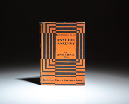First American edition of Psycho-analysis by Dr. Ernest Jones, from the New Library series.
