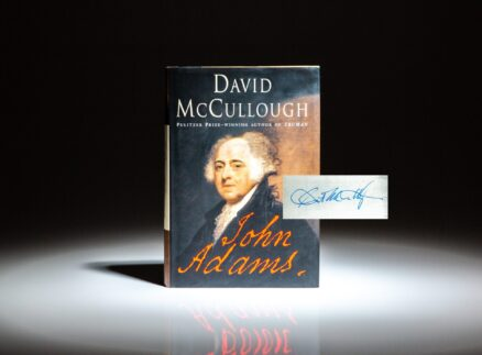 Signed first edition of John Adams by David McCullough.