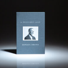 Deluxe limited edition of A Promised Land, the memoirs of President Barack Obama, signed by the author.