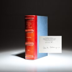 Limited edition of Robert Kennedy and His Times, signed by the author, Arthur M. Schlesinger, Jr.