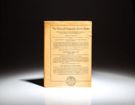 First edition of Washington: The Nation's Capital by William Howard Taft, in scarce publisher's dust jacket.