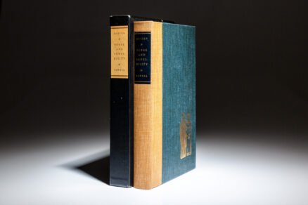 From the Limited Editions Club, Sense and Sensibility by Jane Austen.